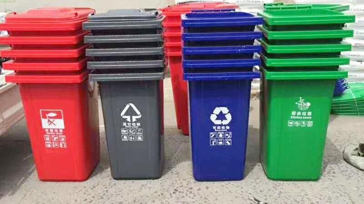 分类垃圾桶型号2