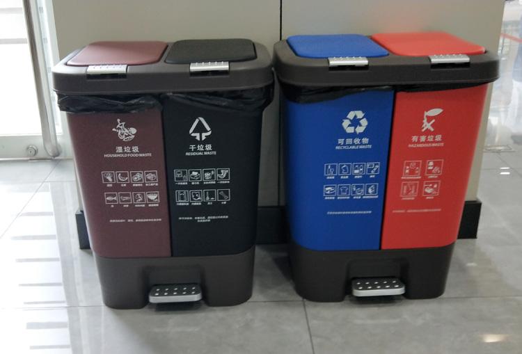分类垃圾桶型号6