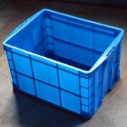 塑料周转箱作业的仓库货架